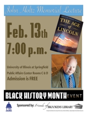 """The Age of Lincoln"" Lecture"