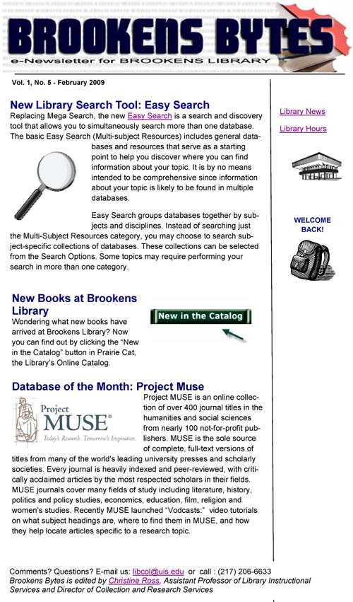 Brookens Bytes eNewsletter