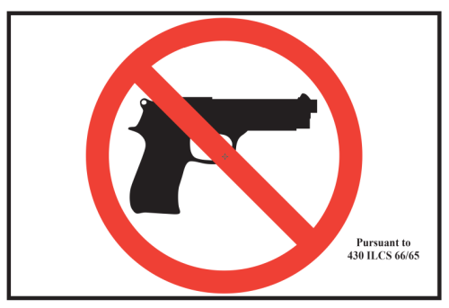 Firearm Prohibited