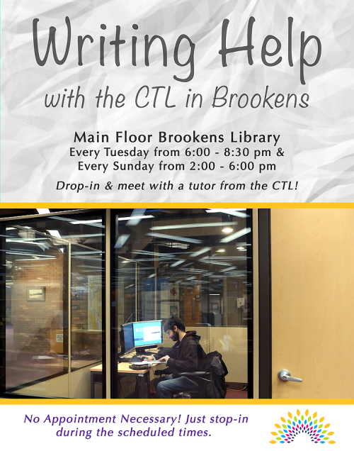 CTL Tutoring in Brookens Library