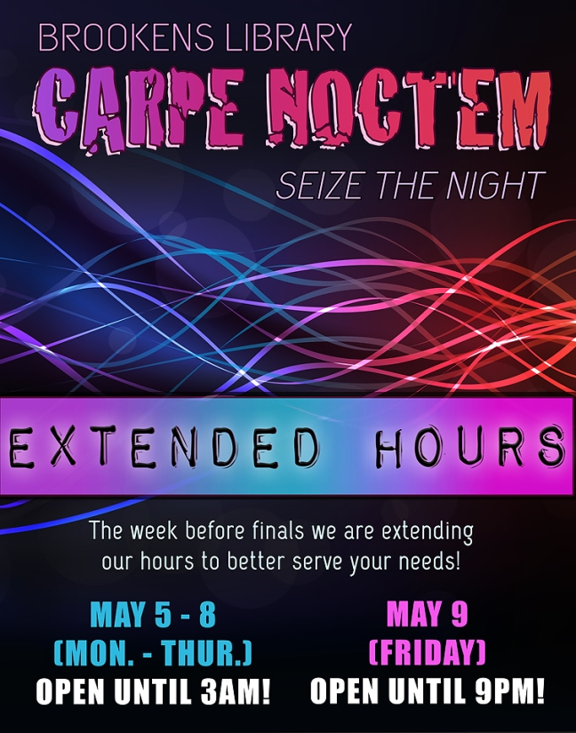 Extended Hours Spring 2014