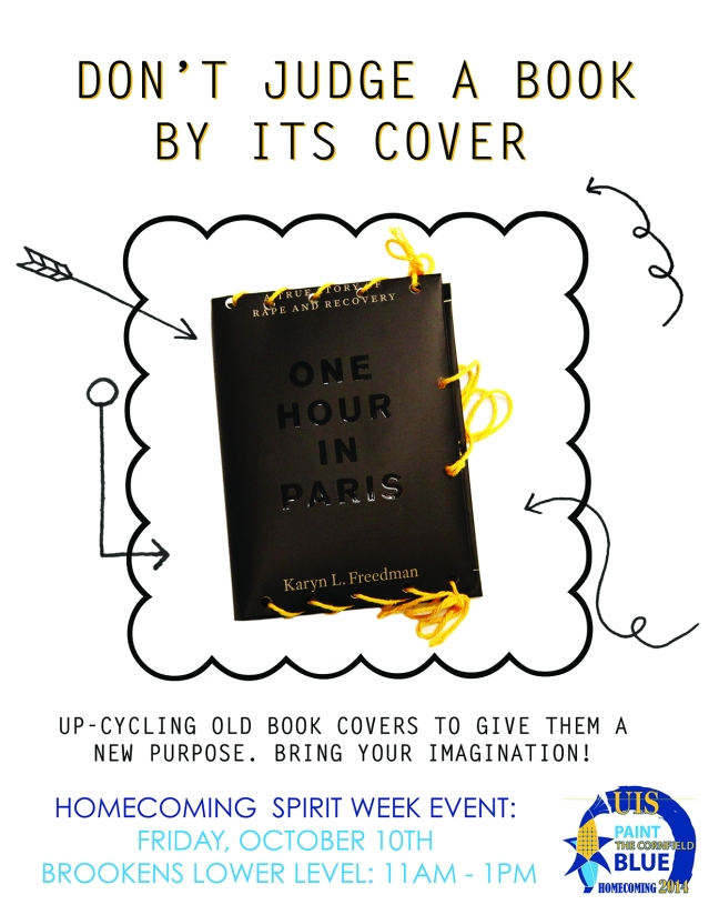 Spirit Week Book Cover Event