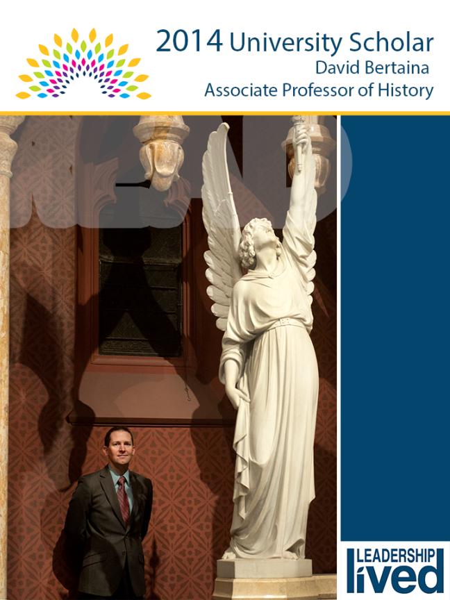 University Scholar 2014_David David Bertaina