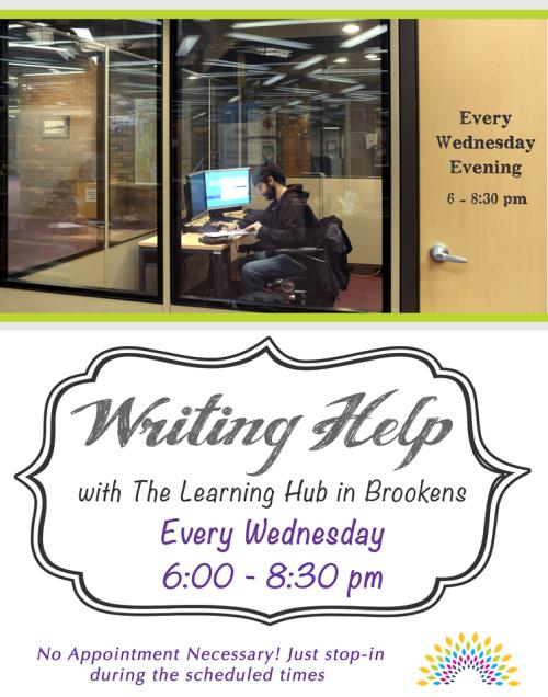 Learning Hub_Writing Help 2015