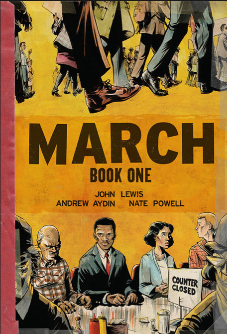 March Book One  - One Book, One UIS 2015