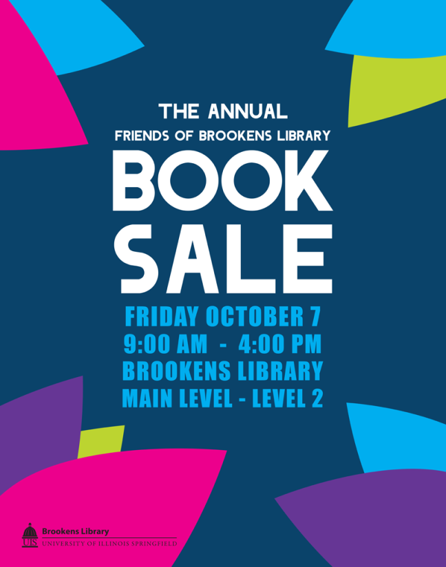 Friends of Brookens Library Annual Book Sale 2016