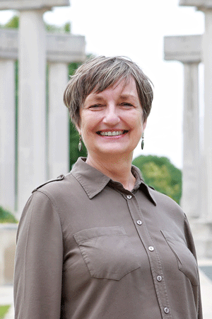 Pamela Salela, a librarian