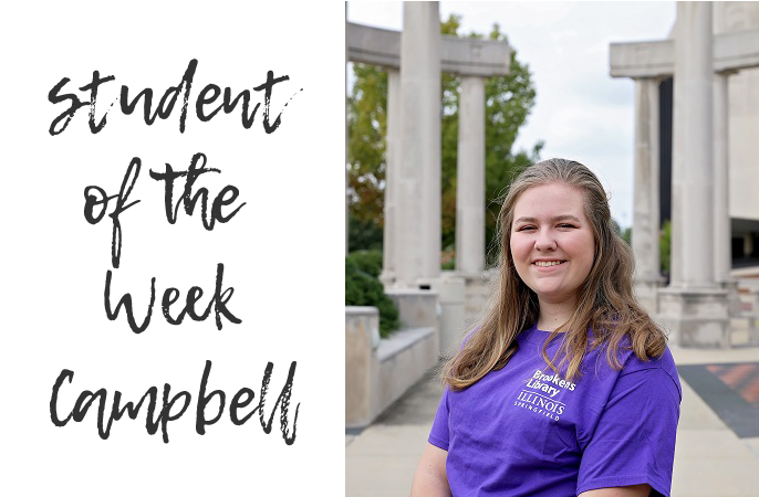 Photo of Student Employee Campbell