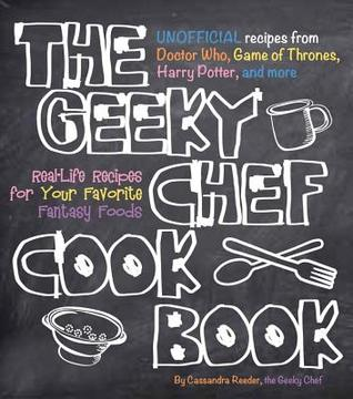 The Geeky Chef Cook Book cover